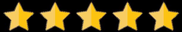 vijf sterren boven logo klein